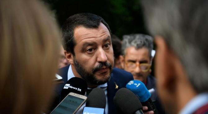 Матео Салвини обяви, че е готов да посети Париж още тази седмица