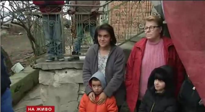 Семейство с 9 деца остана без вода посред зима