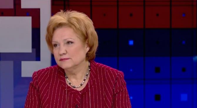 Менда Стоянова с коментар за банковите преводи от Венецуела