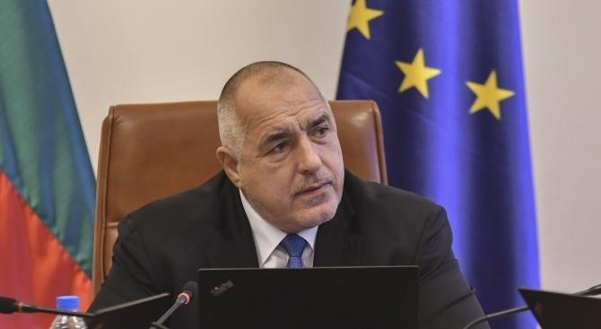 Борисов изрази съболезнования на близките на загиналите от инцидента край Скопие
