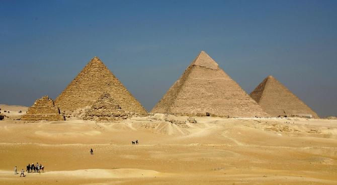 Египетските пирамиди се превърнаха в място за маратон