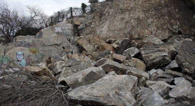 Повишена е опасността от падащи камъни по пътя Сливен – Ичера – Градец