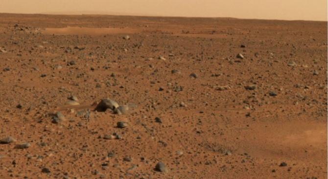 Времето на Марс вече в интернет