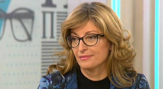 Екатерина Захариева: Намесата на Русия в които и да е избори не е новина