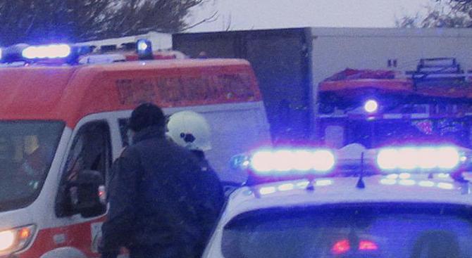 ТИР катастрофира на пътя Русе-Бяла, движението е блокирано