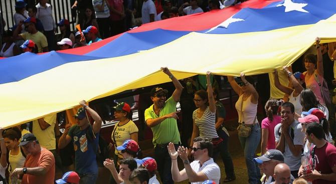 Сблъсъци избухнаха по границата между Венецуела и Колумбия