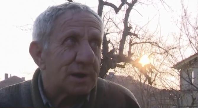 Пенсионер с молба към хората – да му даряват книги
