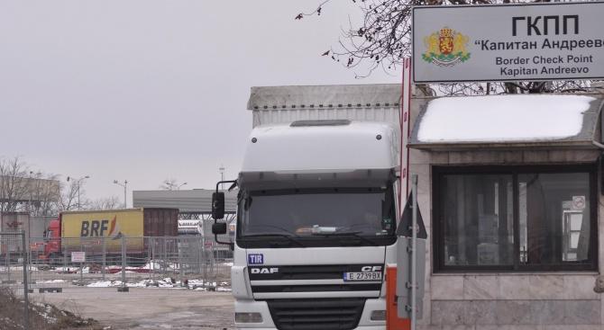 Нормален е трафикът по границите на страната