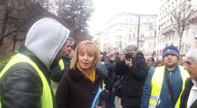 Мая Манолова подкрепи исканията на служителите от столичния градски транспорт на заседанието на транспортната комисия към СОС