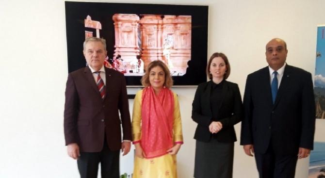Представители на ръководството на ПП АБВ се срещнаха с Н. Пр. Пуджа Капур, посланик на Индия в България