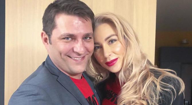 Антония Петрова показа сина си