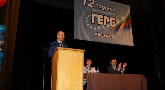 Цветанов пред 1000 членове на ГЕРБ - Кърджали: Предстои ни битка на европейските ценности срещу националпопулизма