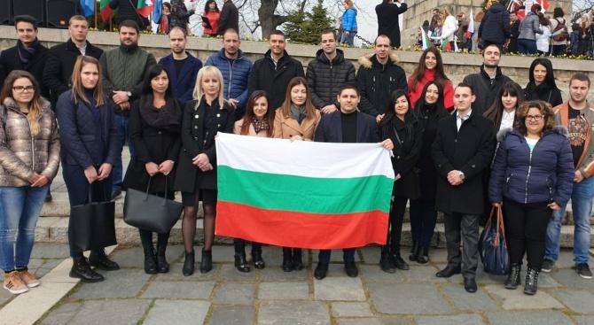 ГЕРБ се включи в честванията на Националния празник в Пловдив