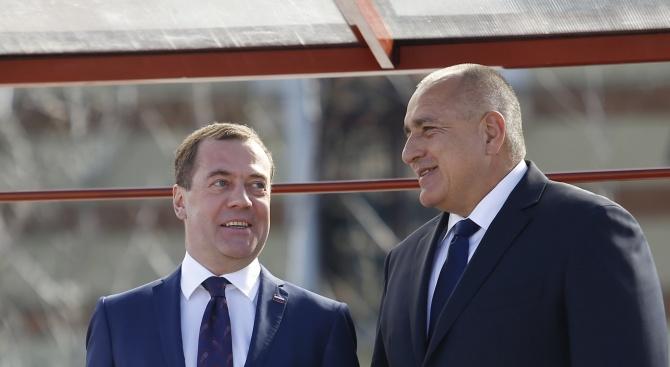 Бойко Борисов и Дмитрий Медведев ще открият Българо-руски бизнес форум в областта на туризма