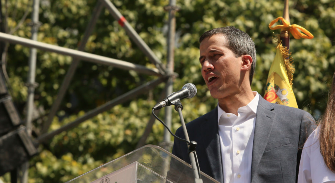 Гуайдо ще се срещне с представители на профсъюзите на държавните служители във Венецуела