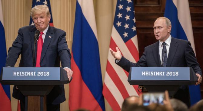 Конгресът на САЩ иска информация за разговори на четири очи между Тръмп и Путин