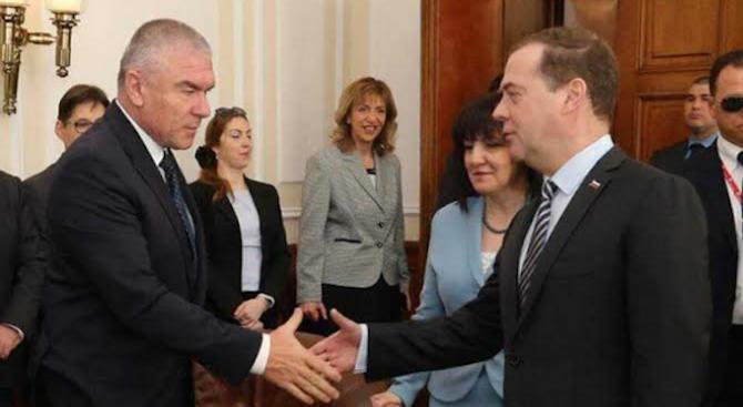 И Марешки се срещна с Медведев