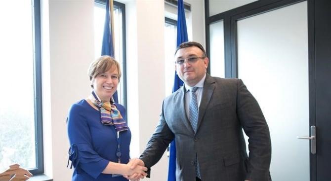 Младен Маринов и главният секретар на МВР осъществиха работно посещение в Европол