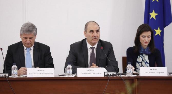 Цветанов: Европейските ни партньори оценяват охраната по външната ни граница