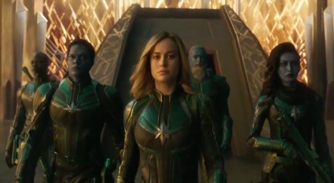 """""""Капитан Марвел"""" и у нас е най-гледаният филм"""