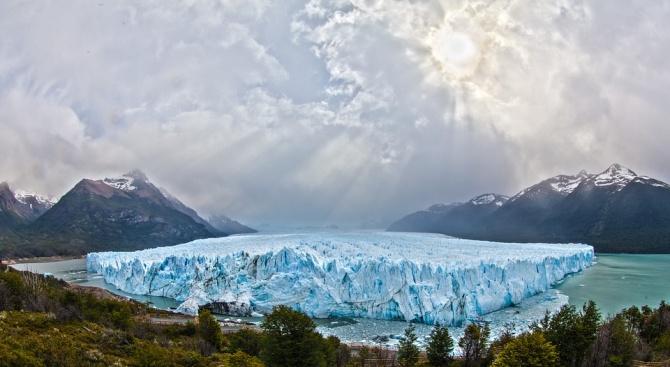 Новооткъснали се айсберги в Патагония предизвикват тревога