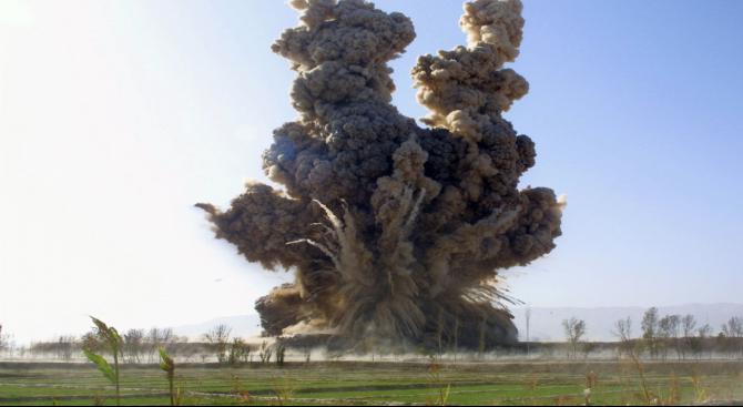 Руски самолети бомбардираха оръжеен склад на сирийските бунтовници в Идлиб