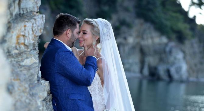 Антония Петрова вдигна втора сватба с таен ритуал