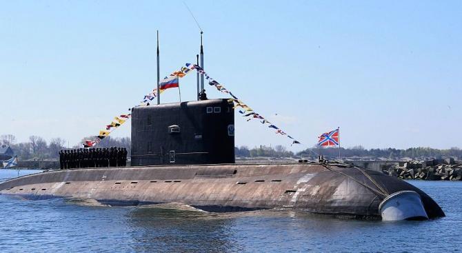 Русия показа нова суперподводница