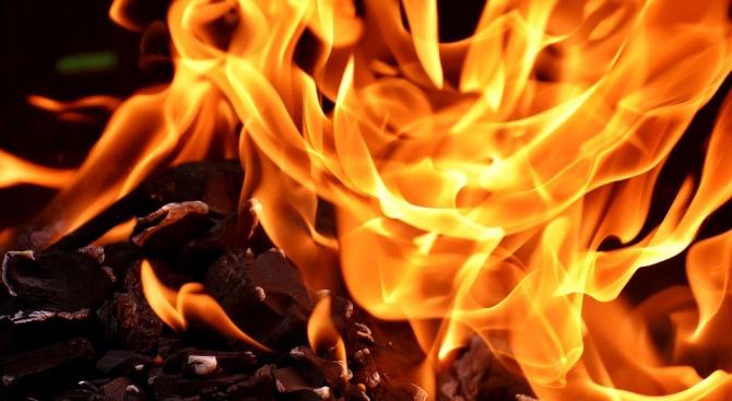21 пожара са гасили екипи в Кюстендилско