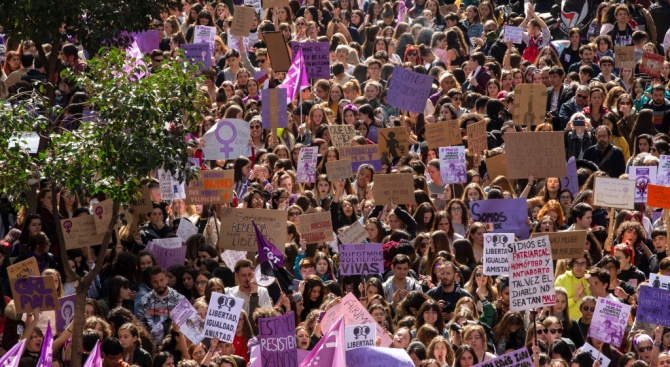 Хиляди испанци демонстрират в Мадрид против абортите
