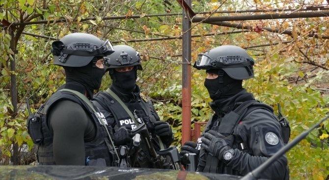 Спецакция в полицията в Благоевград