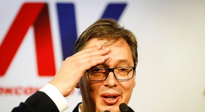 Вучич: Сърбия никога няма да се присъедини към НАТО