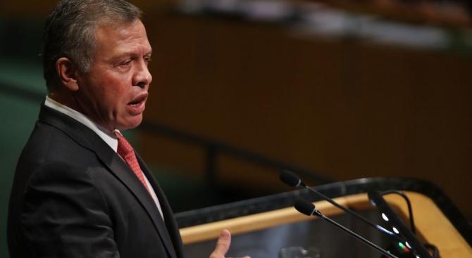 Кралете на Мароко и Йордания  заявиха, че подкрепят политическото уреждане на конфликта в Сирия