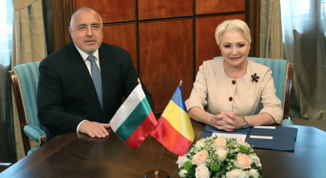 Борисов изключително доволен от срещата с румънската си колежка
