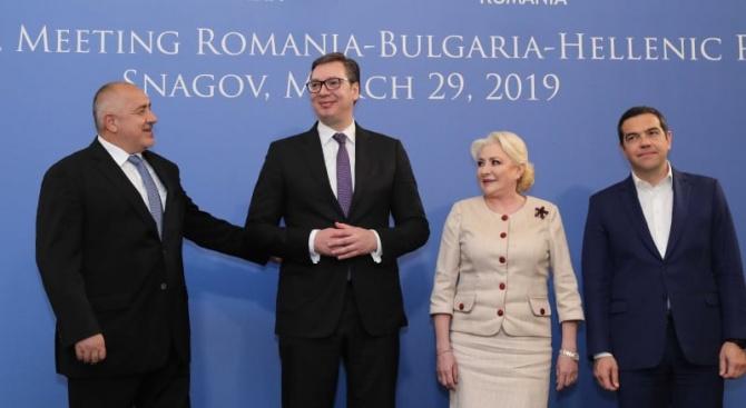 Бойко Борисов: Ще изградим магистрала от Белград през София до Истанбул
