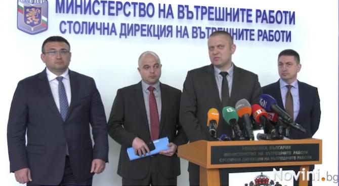 Младен Маринов: СДВР отчита 9% спад на регистрираните престъпления през 2018 г.