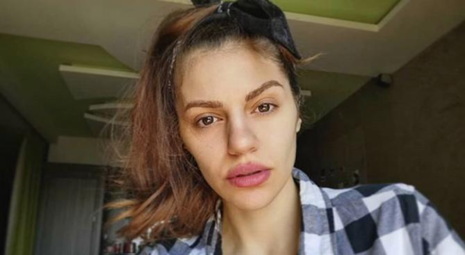 Михаела Филева лъсна без грим