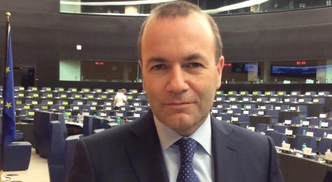 Манфред Вебер обеща силен и щедър Европейски съюз