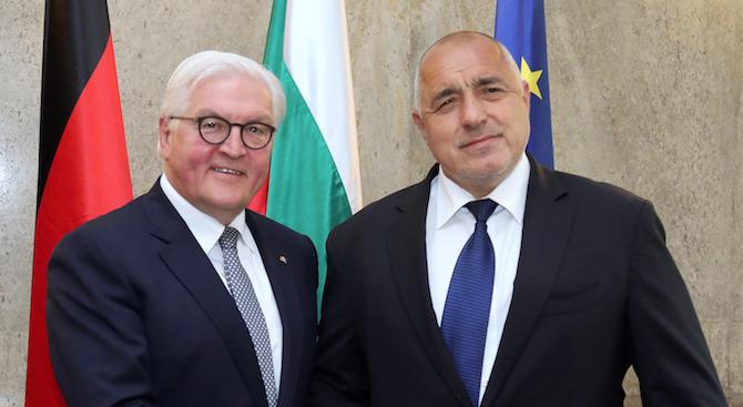 Борисов към Щайнмайер: България сведе мигрантския поток до нулев без много шум