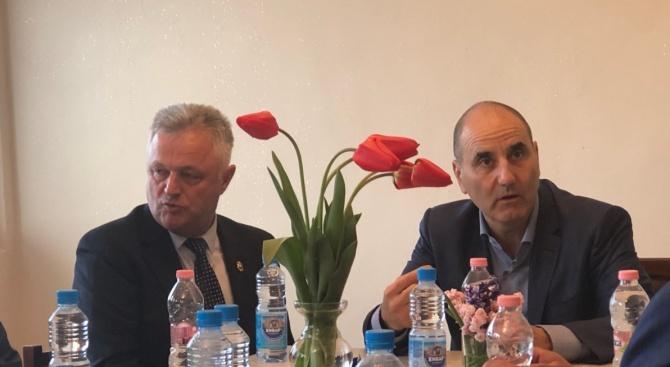 Цветан Цветанов се срещна с областното ръководство на ГЕРБ-Добрич