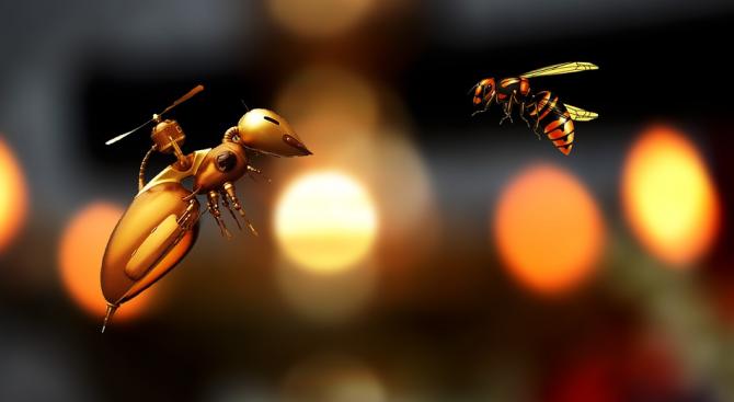 НАСА праща роботизирани пчели на МКС
