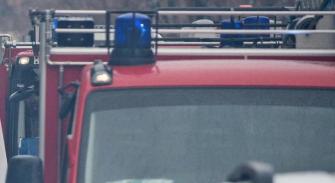 Пламна пожар край хлебозавод в София