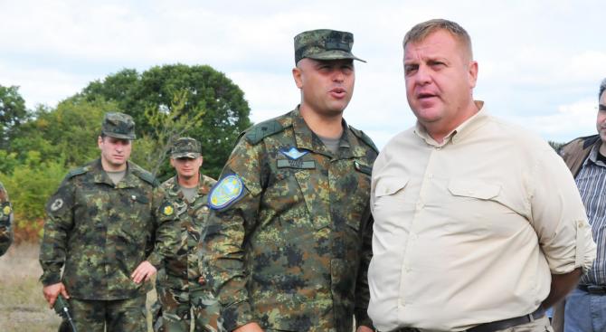 Красимир Каракачанов ще посети района на ГКПП - Кулата
