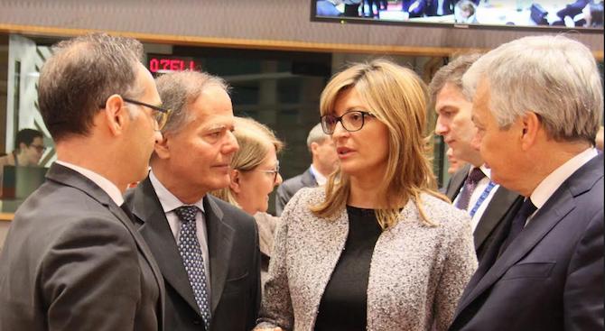 """Екатерина Захариева: Очакваме през юли да влезем в """"чакалнята"""" на Еврозоната"""