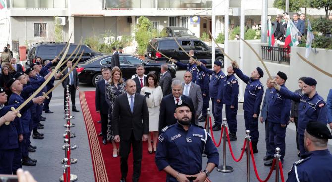 Румен Радев: Българската общност в Ливан доказва, че за приятелствата няма граници и разстояния