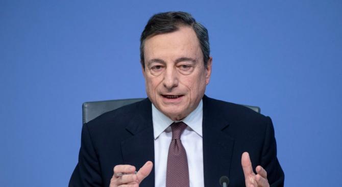 Президентът на ЕЦБ: Икономическият спад ще продължи през тази година