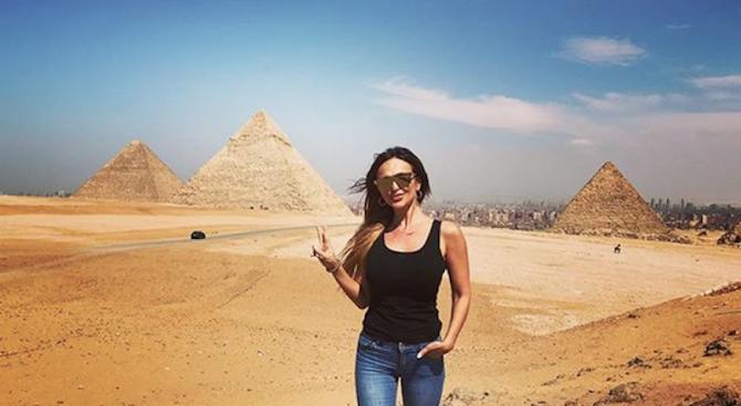 Глория в Египет: Пея, пътувам, мечтая