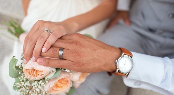 Браковете за 2018 г. над 28 000, разводите близо 11 000