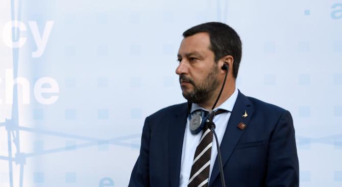 Матео Салвини отправи сериозни критики към кметицата на Рим