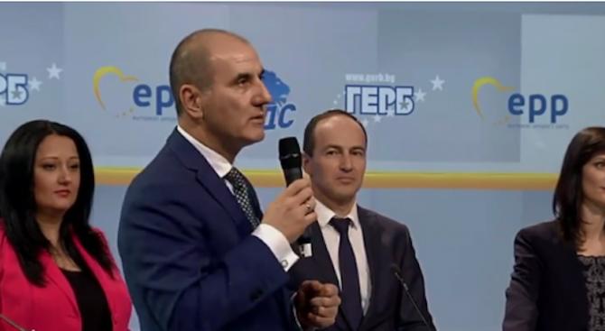 Цветан Цветанов: Платформата на ГЕРБ показва правилния подход